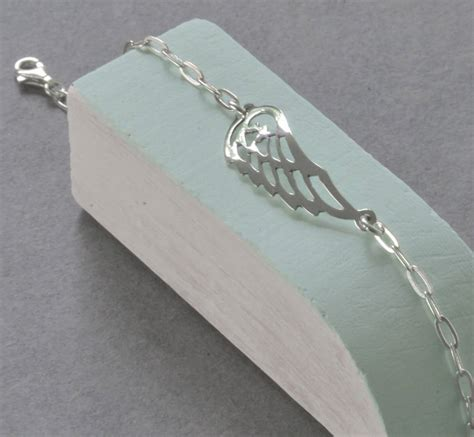Tales From The Earth Silver Bracelet At Asos by Sterling Silver Wing Bracelet By Tales From The