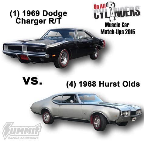 69 challenger vs 69 charger car match ups 2015 2 onallcylinders