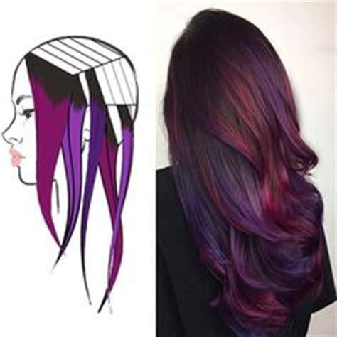 hair color placement my shades of violet hair color purple tones lavander