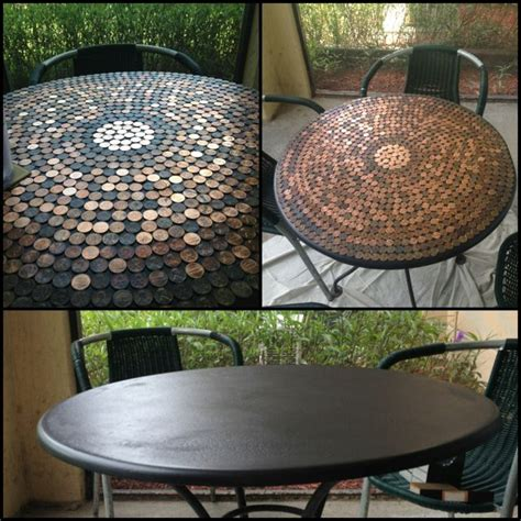 penny table top epoxy 1000 images about epoxy tables on pinterest harvest