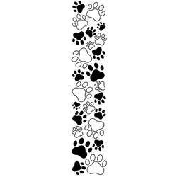 paw prints dog paw print stamps dog prints clip art wikiclipart