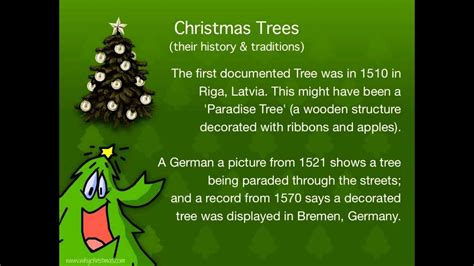 what is the tradition of the tree traditions trees their history and