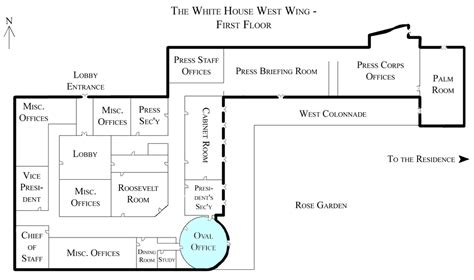 white house replica floor plans file white house west wing 1st floor with the oval