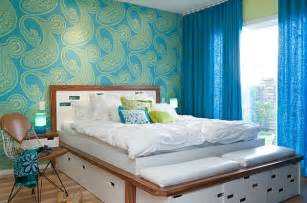 Bedroom Wall Patterns by Bedroom Accent Walls To Keep Boredom Away