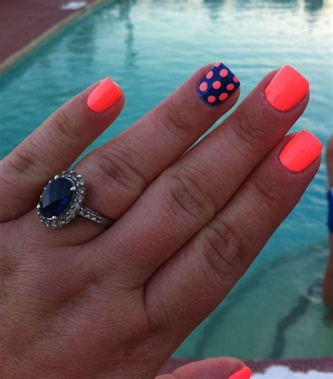 easy nail art bright colors 25 best ideas about neon acrylic nails on pinterest