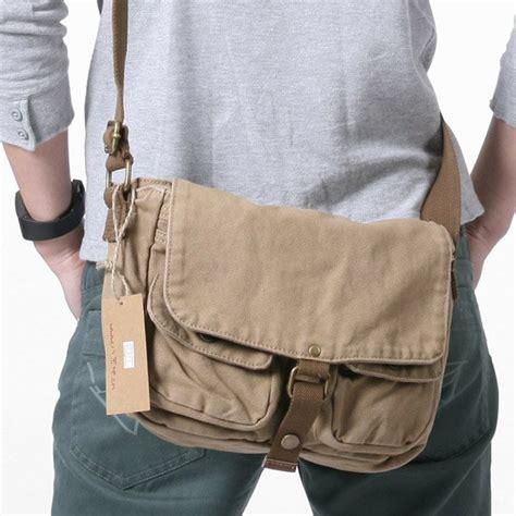 Tas Kanvas Selempang Punggung Style Chest Bag 2371 khaki s shoulder bag 100 cotton canvas bag