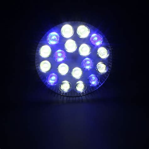 par38 led grow light 18w e27 led coral reef plant grow light tank aquarium