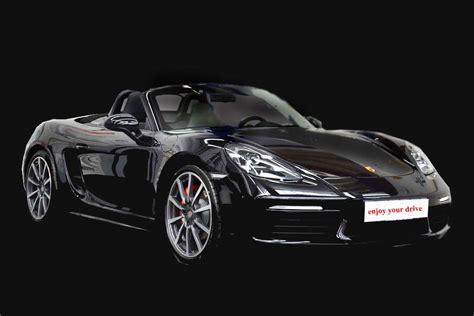 Porsche Mieten N Rnberg by Porsche 718 Boxster S Schwarz Eventcorner