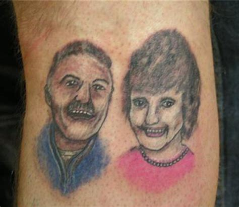 bad portrait tattoos 16 more bad quot did i just do quot tattoos team jimmy joe