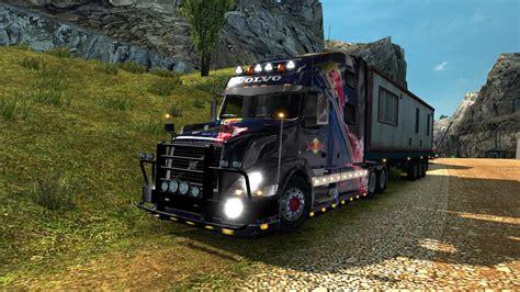volvo truck shop volvo vnl 780 truck shop v3 0 1 27 truck mod ets2 mod