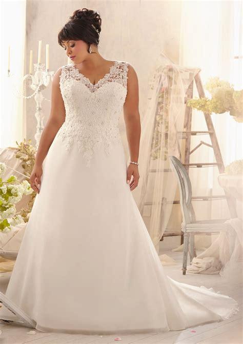 Plus Size Bridal Gowns by Bridal Lace Plus Size Wedding Dresses
