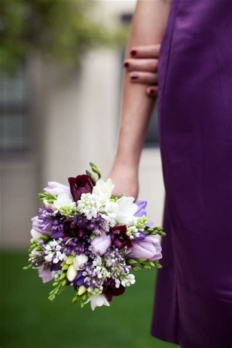 plum colored flower dresses 17 best images about purple and fuschia wedding ideas on