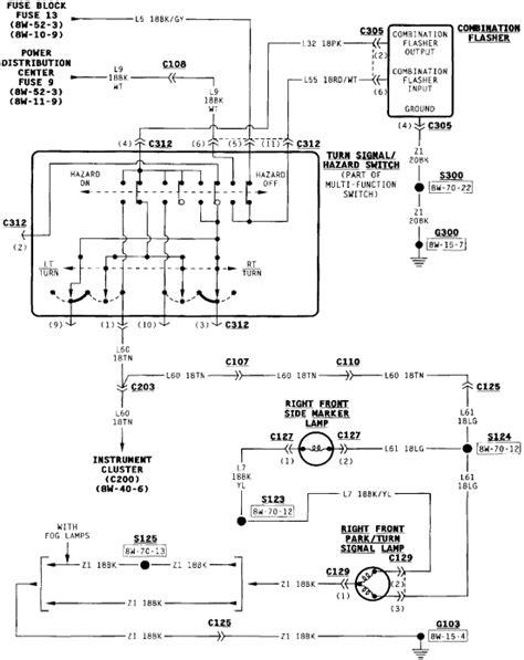 diagrams 576543 jeep wrangler turn signal wiring diagram