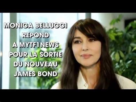 monica bellucci james bond interview interview de monica bellucci james bond woman 2015 youtube