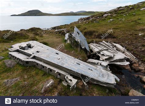 flying boat crash the wreckage of a catalina flying boat that crashed on the