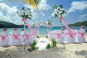 the best wedding decorations hawaiian wedding decorations