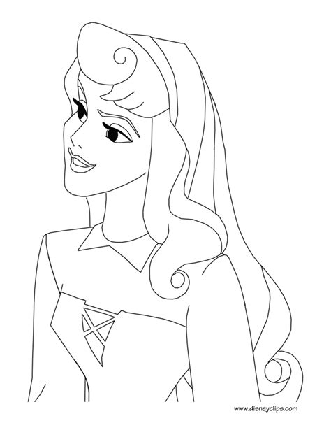 princess rose coloring page sleeping beauty printable coloring pages disney coloring