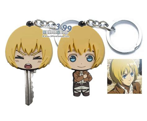 attack on titan for sale attack on titan armin keychain and key holder for sale
