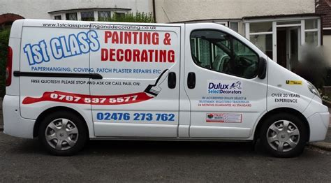 1st class painting decorating decorator in coventry uk