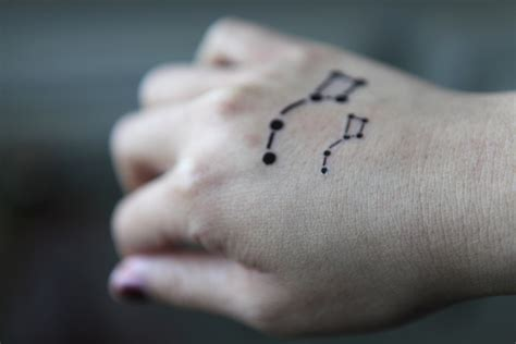 little dipper tattoo spirit ink temporary big dipper ashtrygutierrez