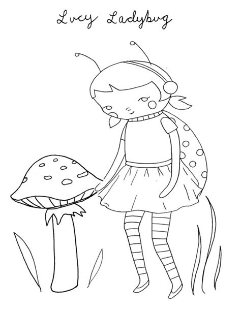 coloring pages ladybug girl ladybug girl coloring pages