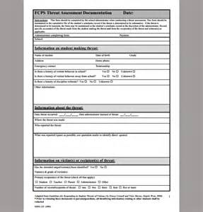 threat risk assessment template assessment template for threat exle of threat