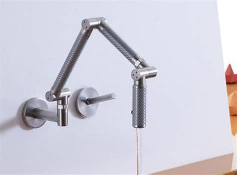karbon wall mount kitchen faucet by kohler por homme