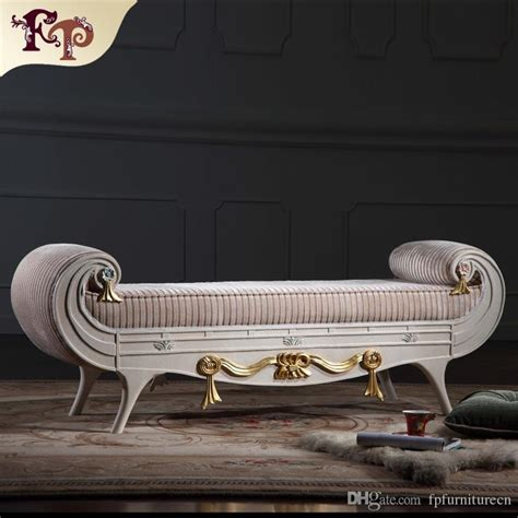 end of bed chaise lounge versailles bed end bench classic furniture european