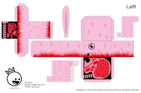 Papercraft Food Templates - kawaii watermelon papercraft templates pictures to pin on
