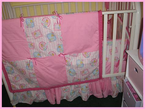 Tinkerbell Crib Bedding Set New 8 Baby Crib Bedding Set In Pink By Kustomkidsbedding