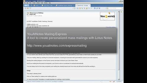Send Email From Excel Vba Lotus Notes How To Create Email Template On Lotus Notes Mail 8 5 And Lotus Notes Signature Template