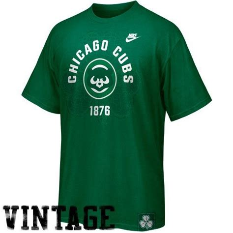 chicago cubs st s day apparel nike chicago cubs green st paddy s day washed t shirt