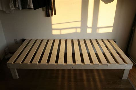How To Build A Bed Frame Diy And Repair Guides How To Build A Box Bed Frame