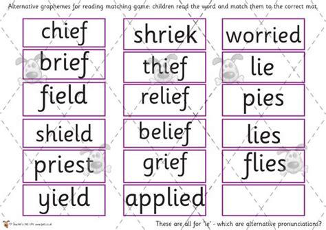 printable phonics games phase 5 teacher s pet phase 5 phonics alternative pronunciation