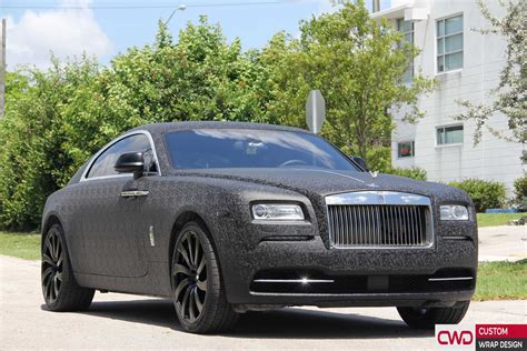 wrapped rolls royce rolls royce wraith 3d jungle wrap