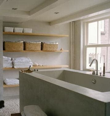 Bathroom Open Shelves Bath Open Shelving Remodelista