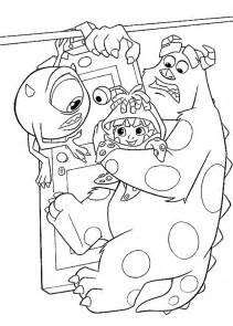 monsters inc coloring pages monsters inc coloring pages coloringpages1001