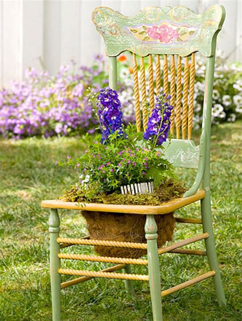planters chair 22 cool chair planter ideas for home and garden balcony