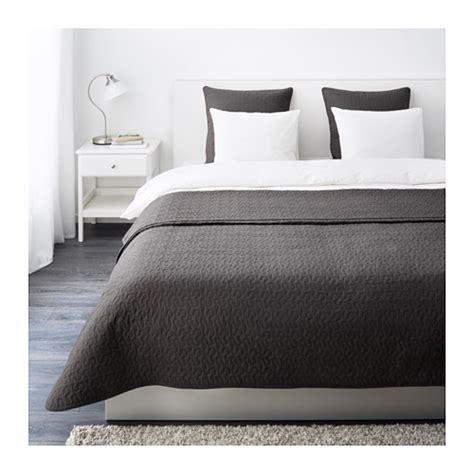 Malm Bed alina couvre lit et 2 housses coussin 260x280 65x65 cm