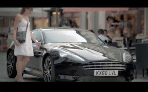 aston martin used car advert aston martin in its ad caign