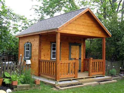 dahkero shed with porch plans free rustic sheds with porch 10x16 outdoor screen house