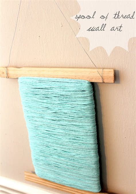 craft thread projects 17 simple diy paint stick crafts new craft works