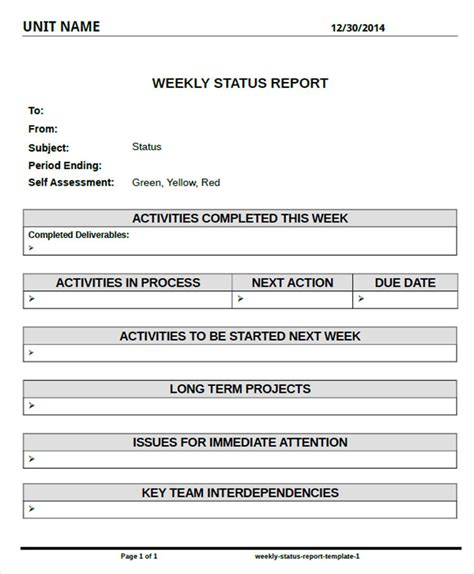 monthly project report template node2002 cvresume paasprovider com