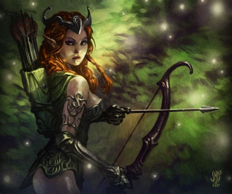 Token Huntress 1000 images about on elves