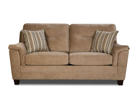 Beige Loveseat Beige Casual Fabric Modern Sofa Loveseat Set W Optional