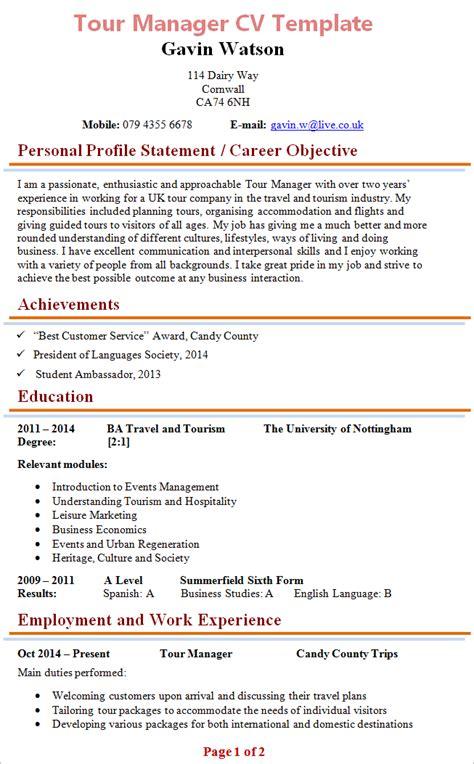 Resume Builder Bowdoin tour manager resume resume ideas