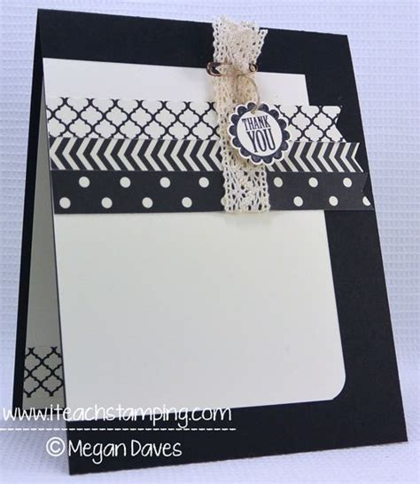 easy to make thank you cards easy to make thank you card punch stin up cards and