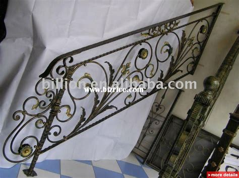 Wrought Iron Stair Parts Outdoor Wrought Iron Stair Railings Staircase Parts