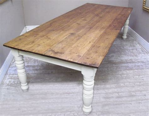 how to make a farmhouse dining table large and beautiful farmhouse style dining table