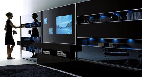 high tech room gadgets модульные системы и стенки для гостиной